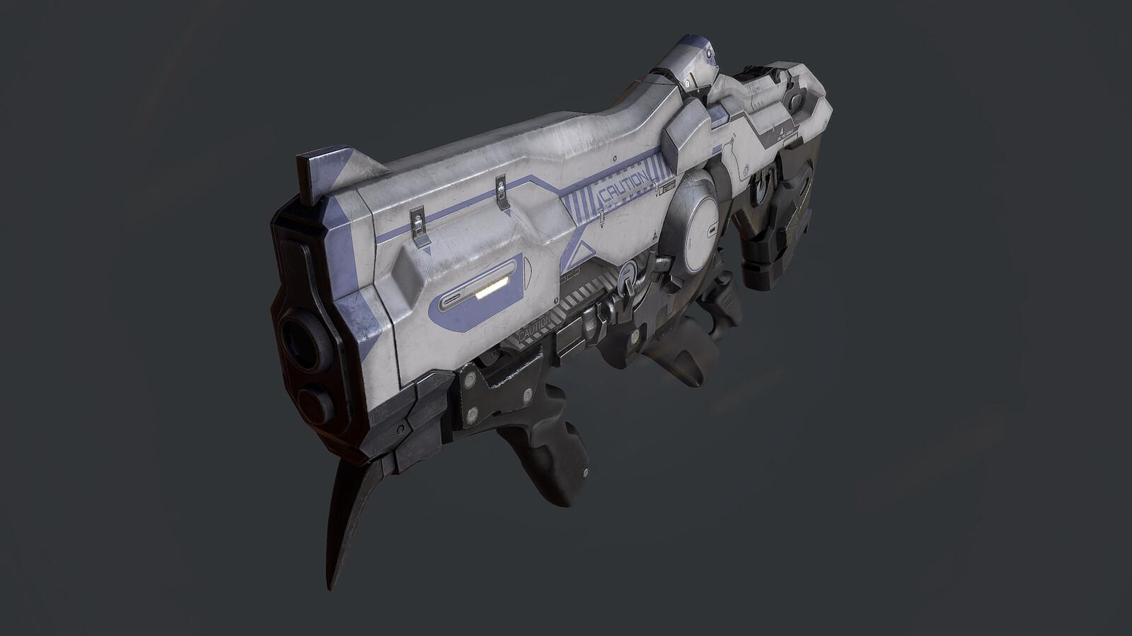 Doom Plasma Rifle