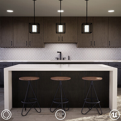 UE4: Cask Kitchen