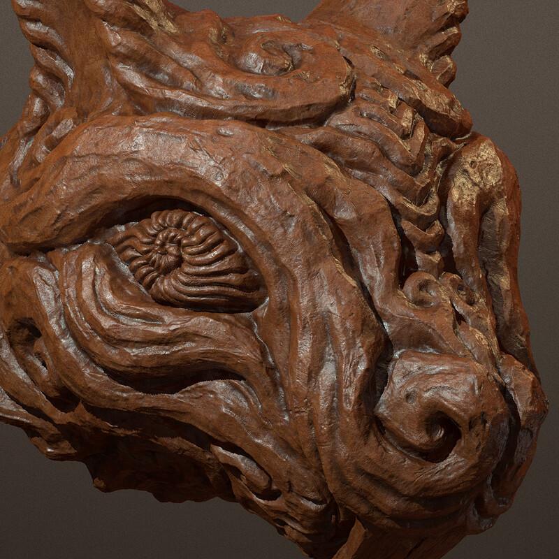 Clay Squirrel Sculpt