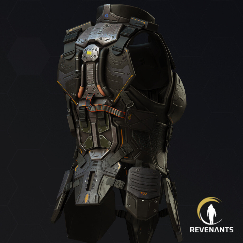 Alexeeva's body armor - Revenants