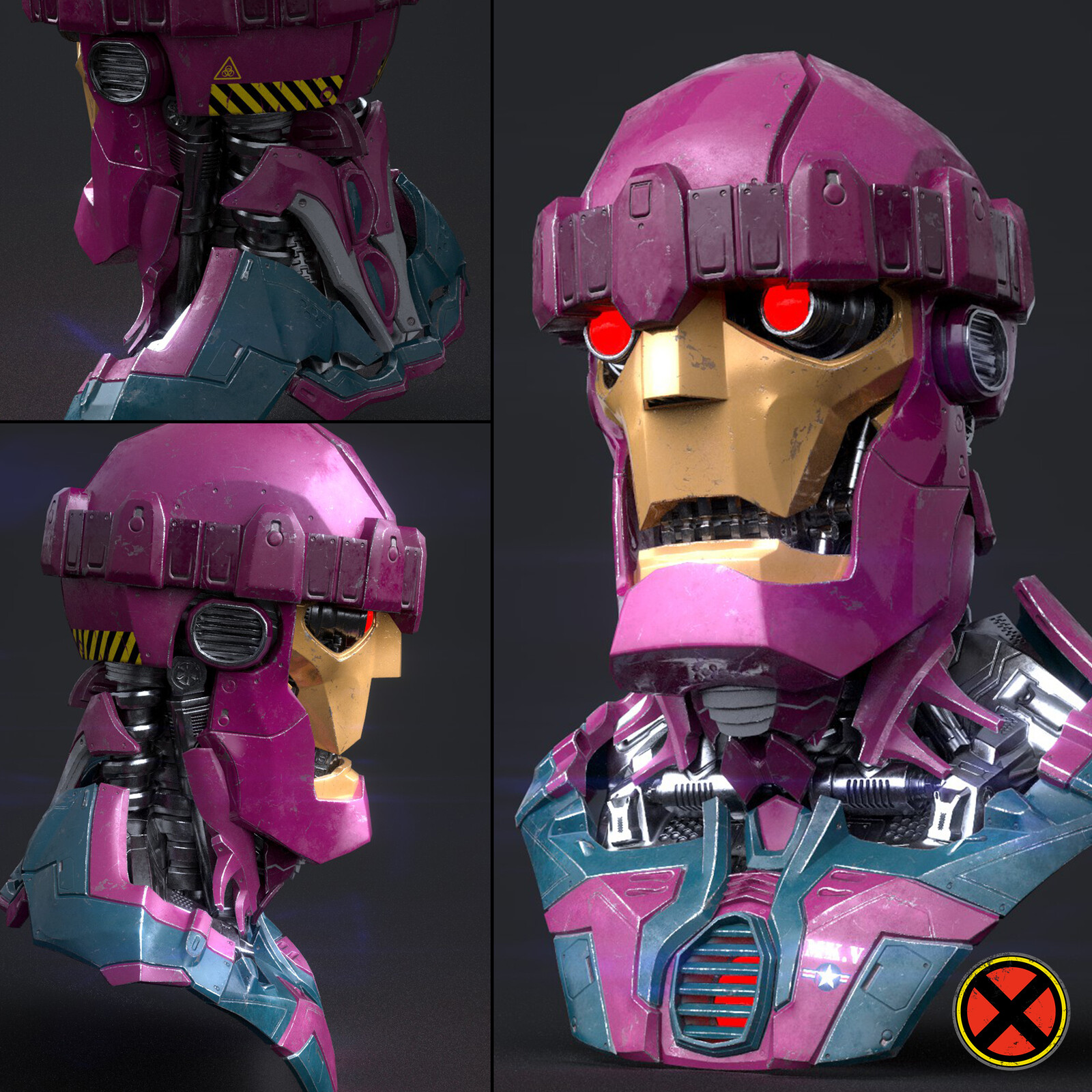 Sentinel Videogames hard-edge sculpture