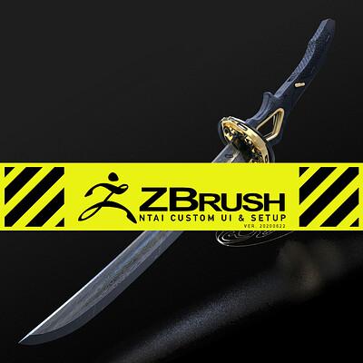 ZBrush UI & Blade demo