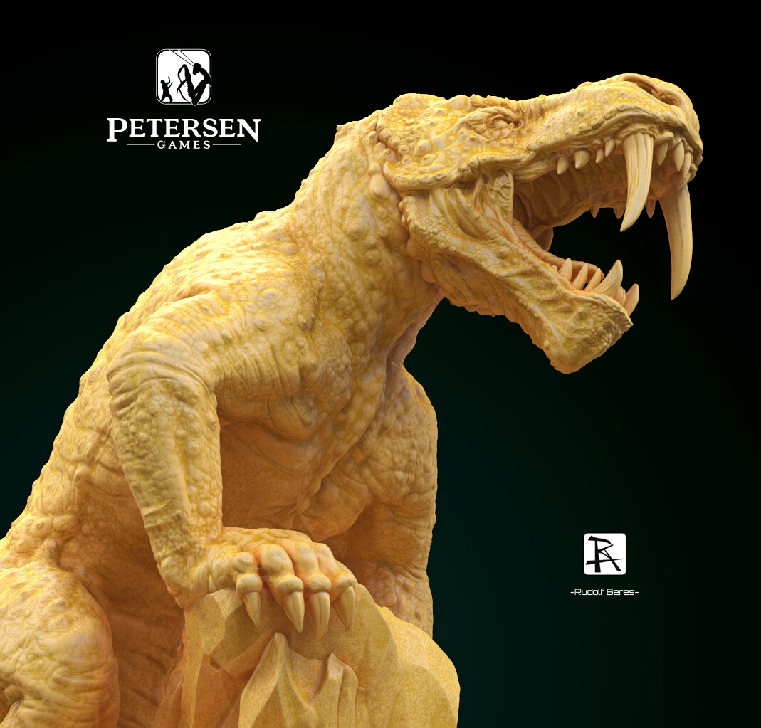 Dinosaur 1944 Sandy Petersen Dinogorgon