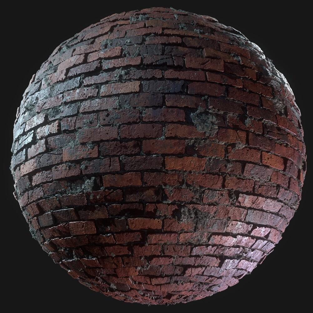 Brick Wall Material