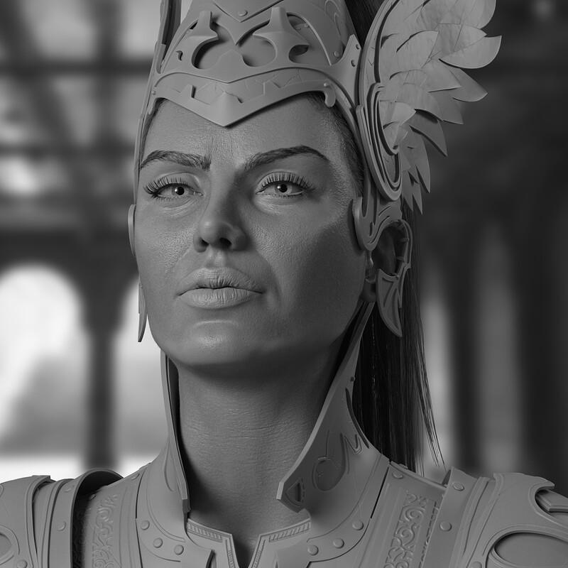 The Warrior Princess : Grey