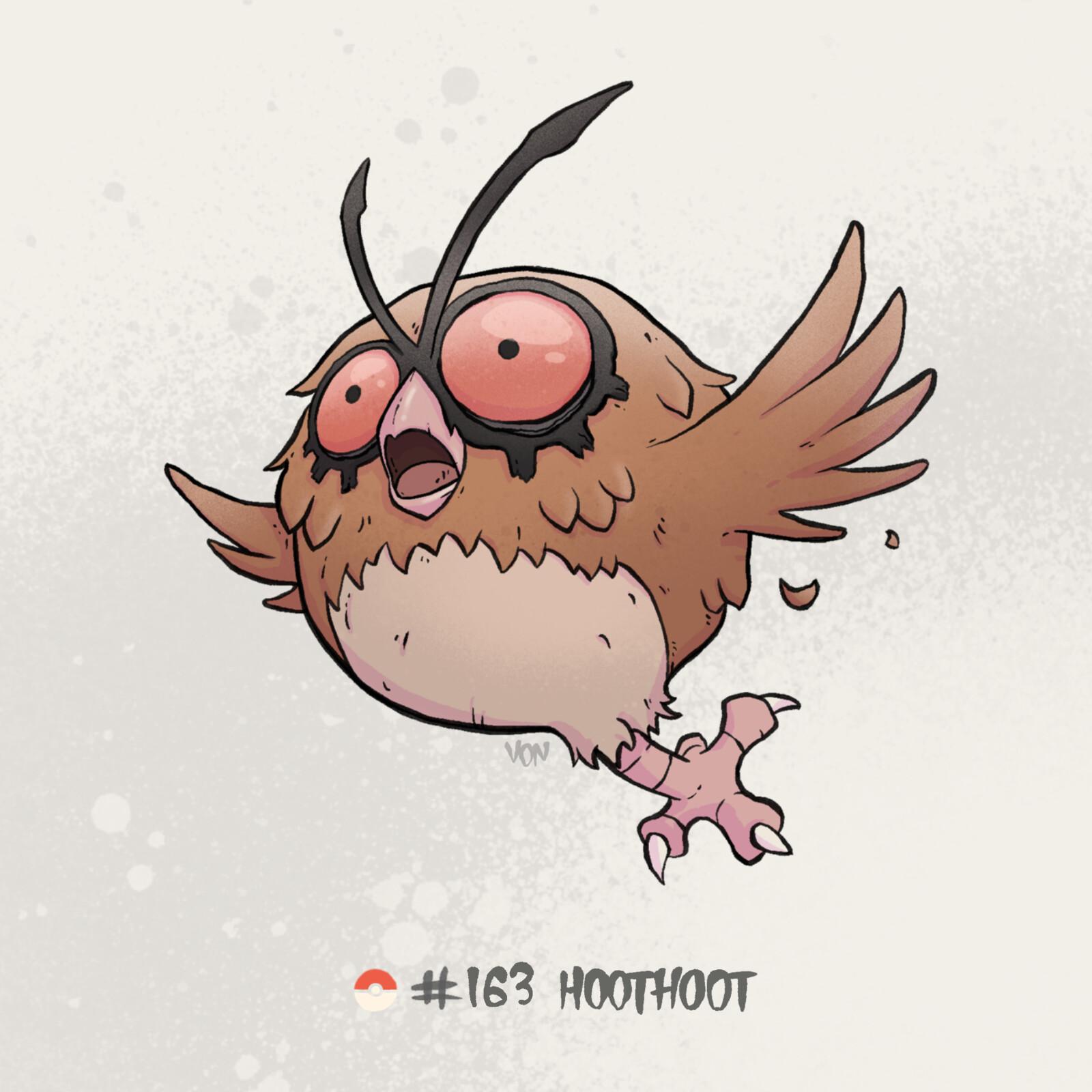 #163 Hoothoot