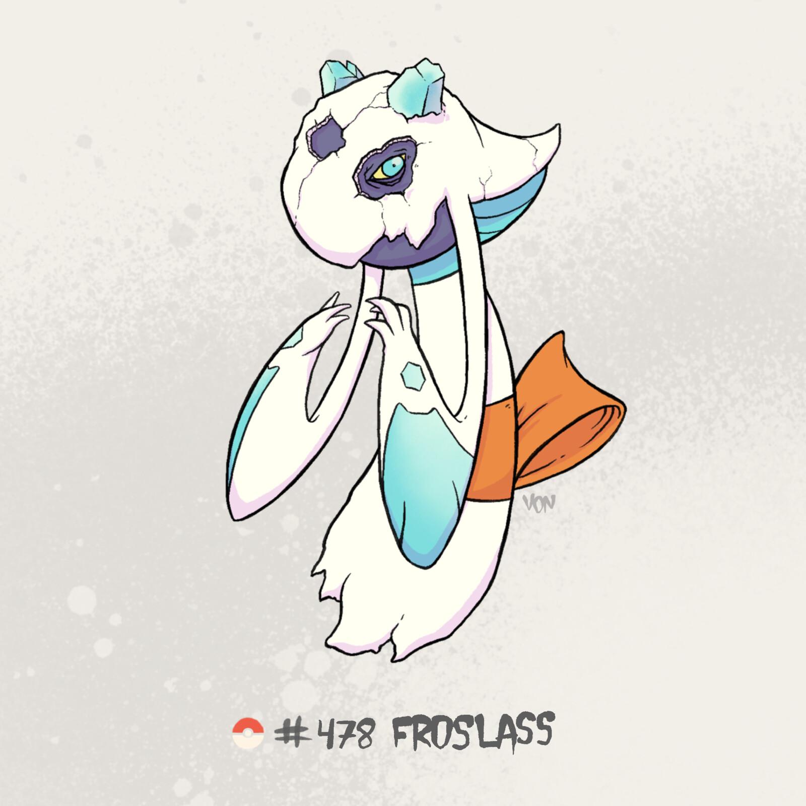 #478 Froslass