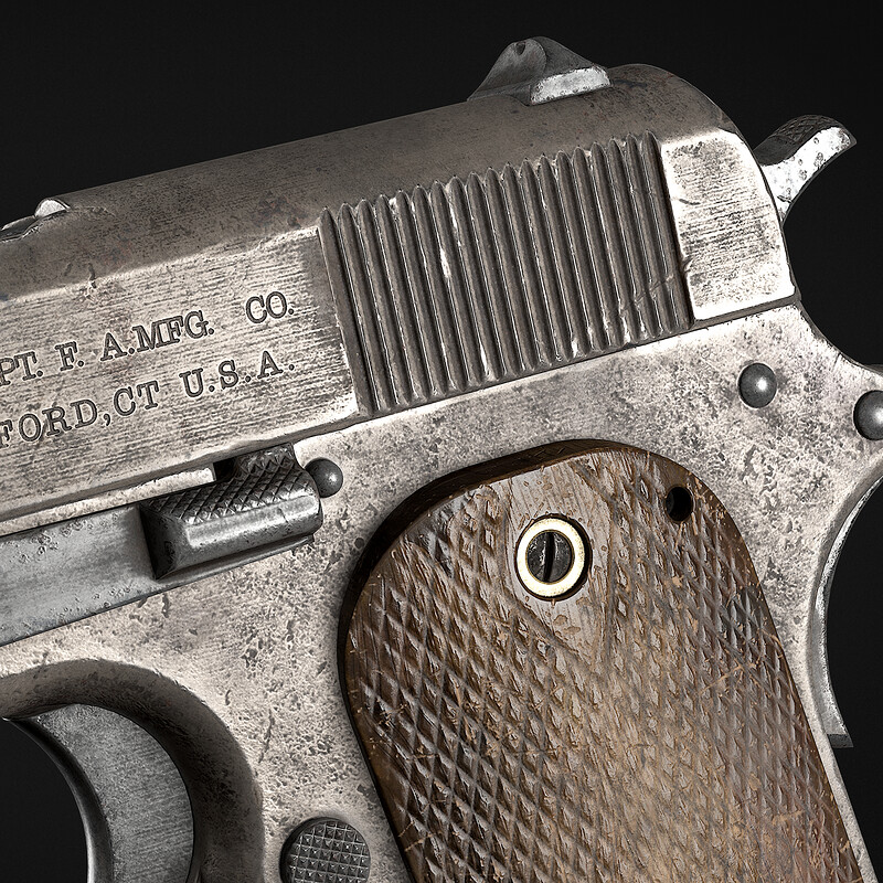 Colt Model 1909 Prototype Pistol