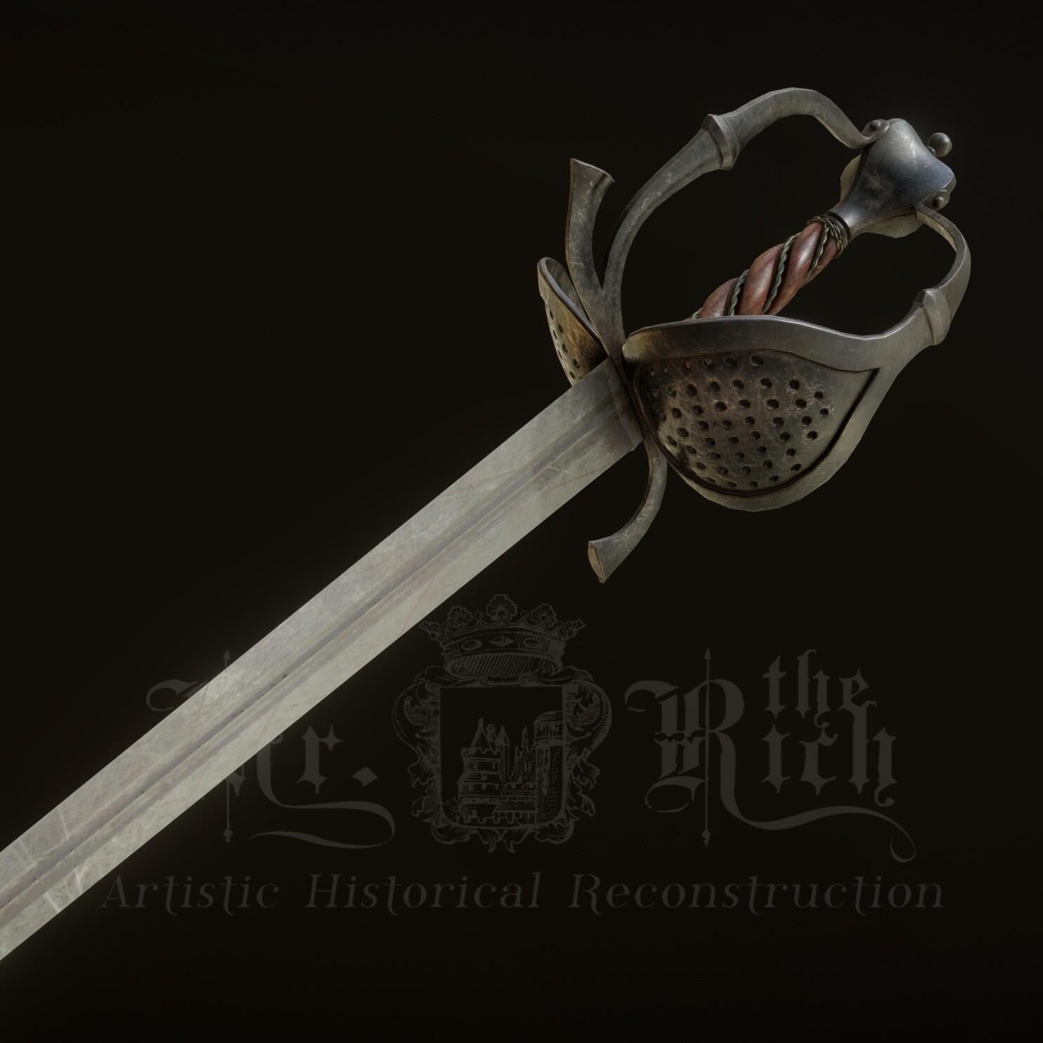 Side-Sword - 1640