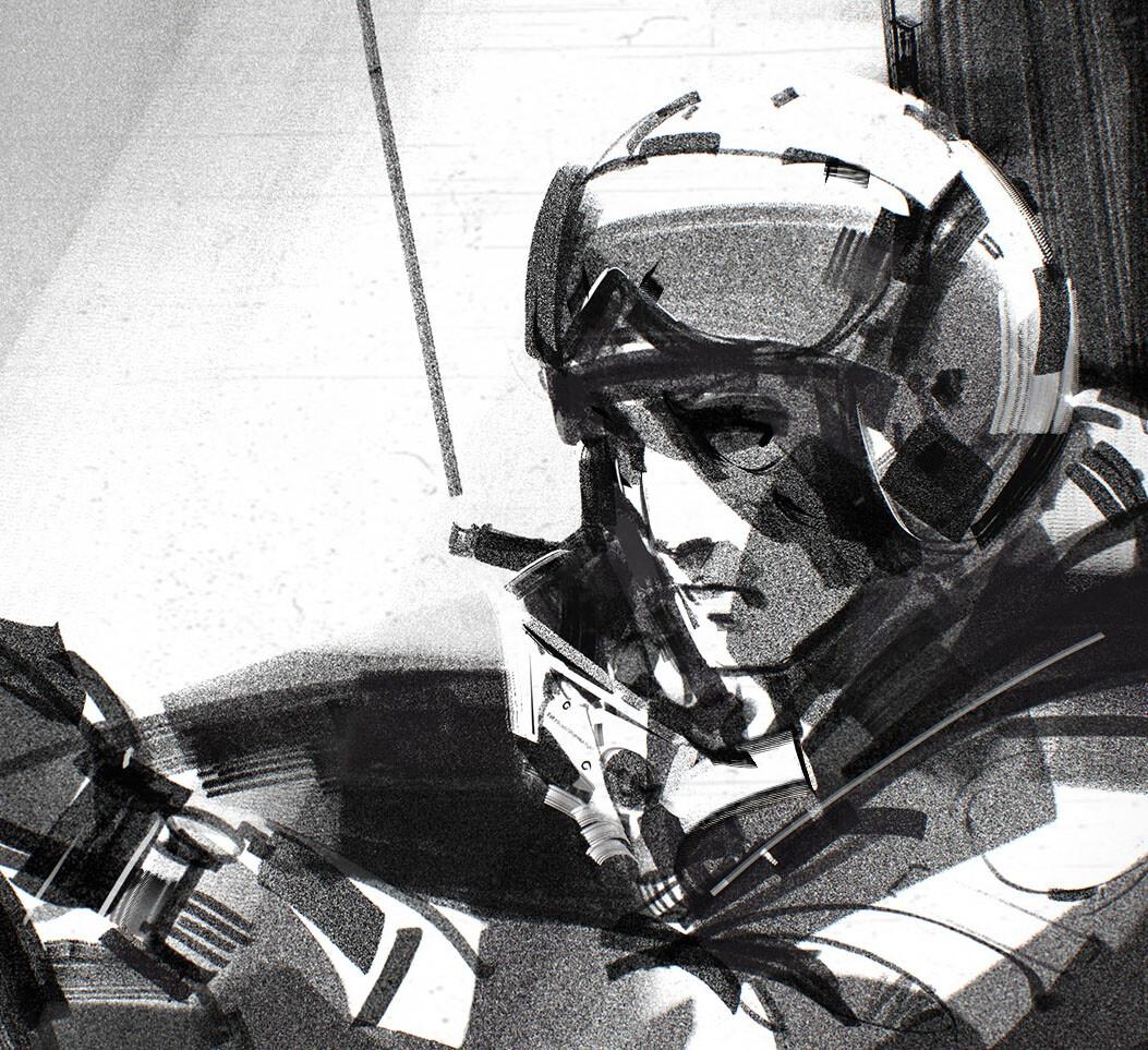 CAPTAIN SKYHAWK nes Intro cinematic storyboards