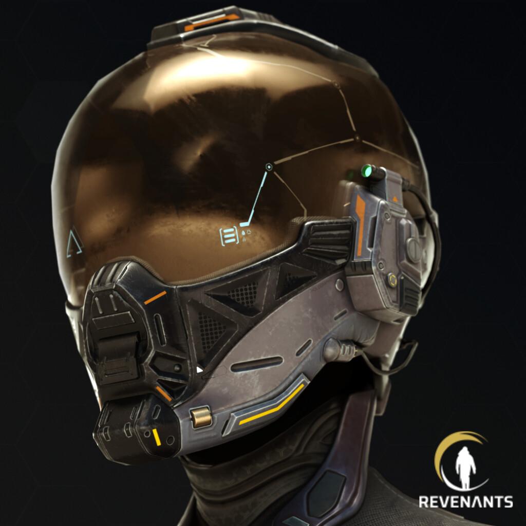 Alexeeva's helmet - Revenants