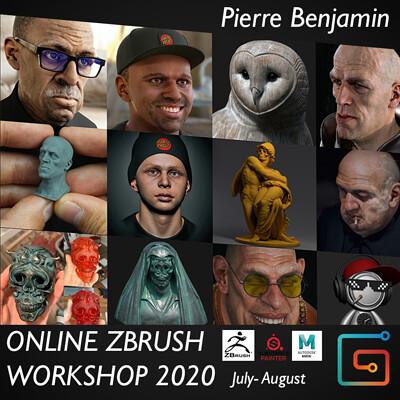 Pierre benjamin second banner workshop updated 2020 square format