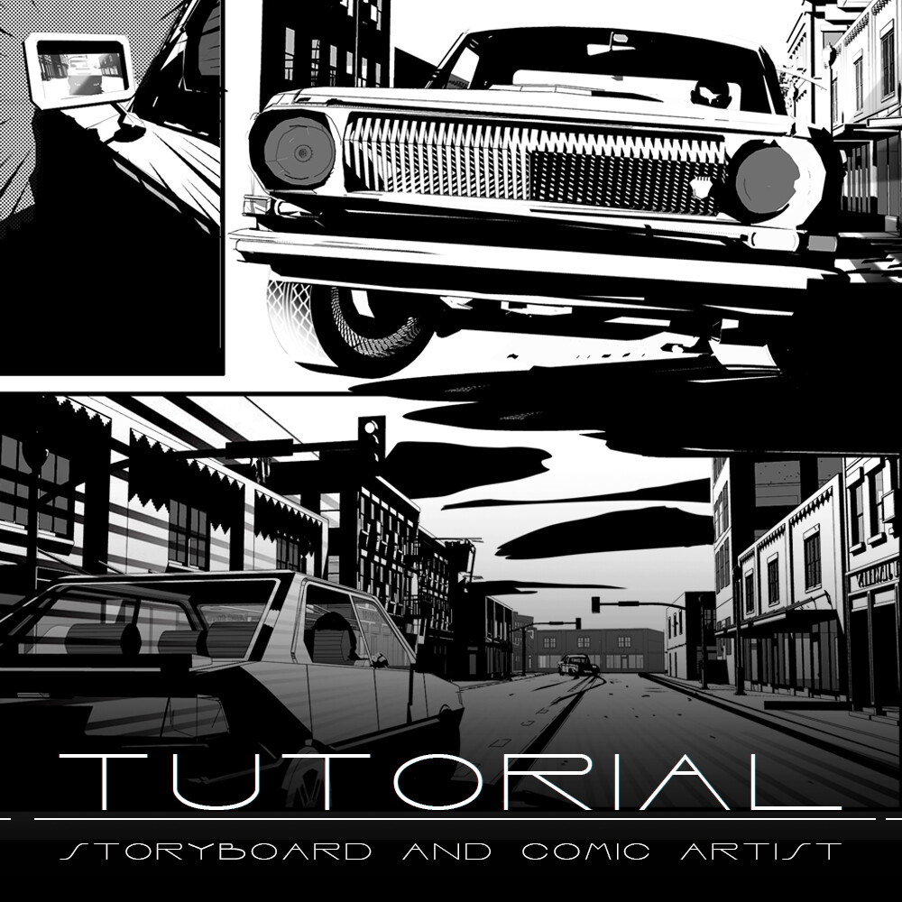 Comic & storyboard Artist - Tutorial