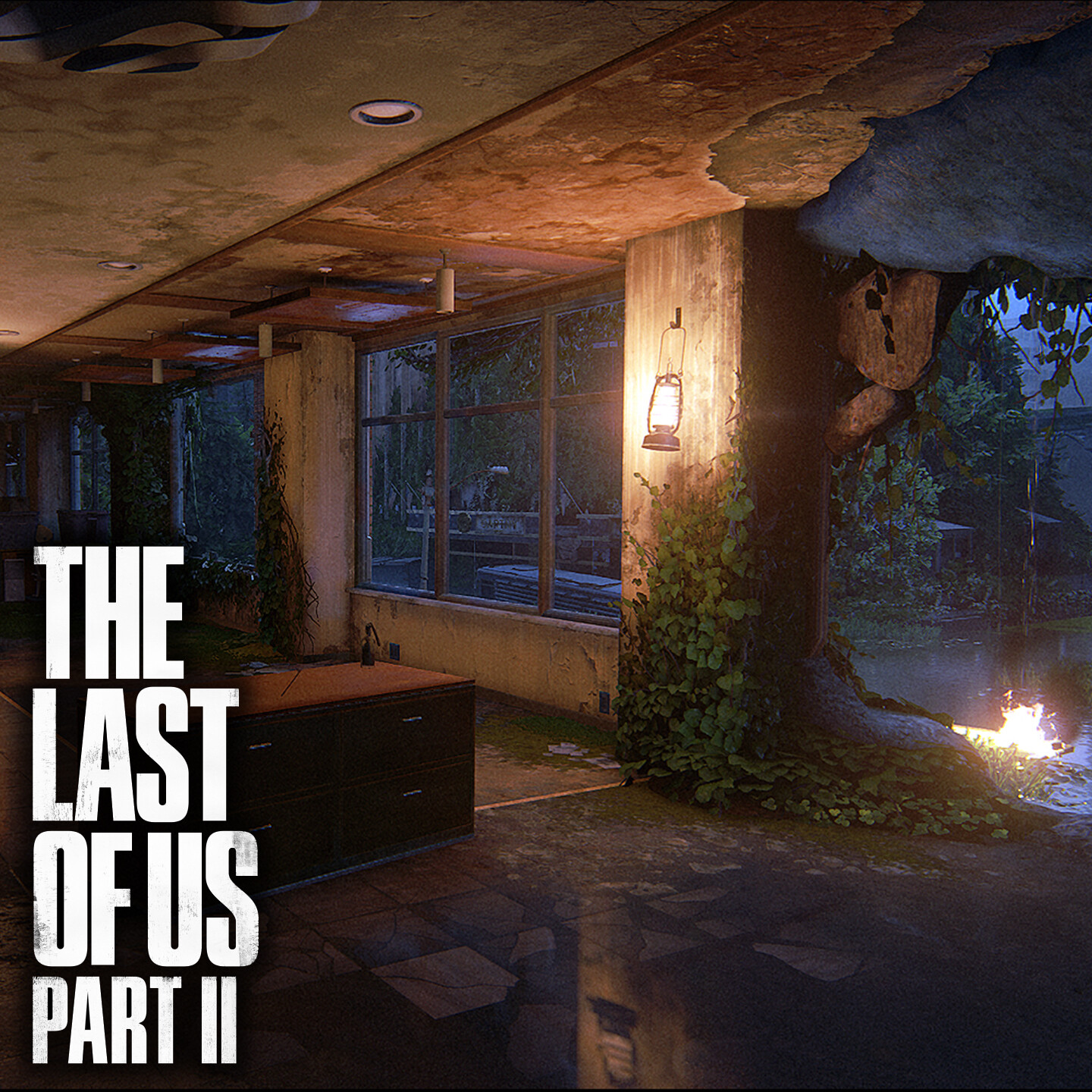 The Last of Us Part II - Flooded City - Scar Building