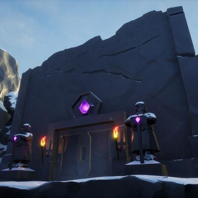 Snowpeak Ruins (Futuregames Level Art)