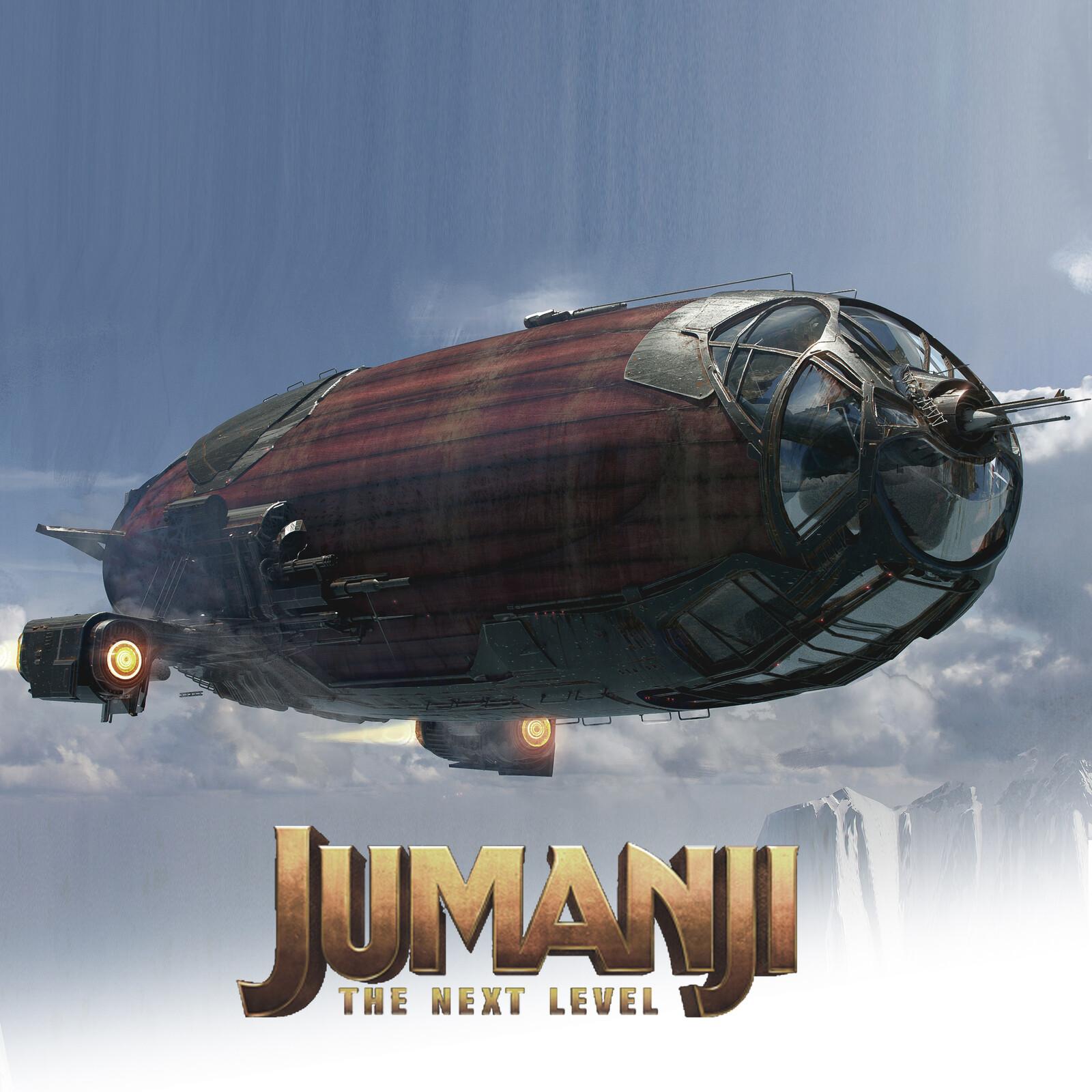 Jumanji: The Next Level. Blimp Designs