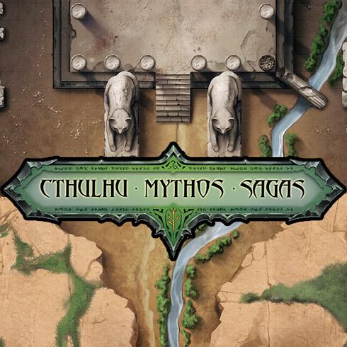 Yig Snake Granddaddy - Cthulhu Mythos Saga Maps