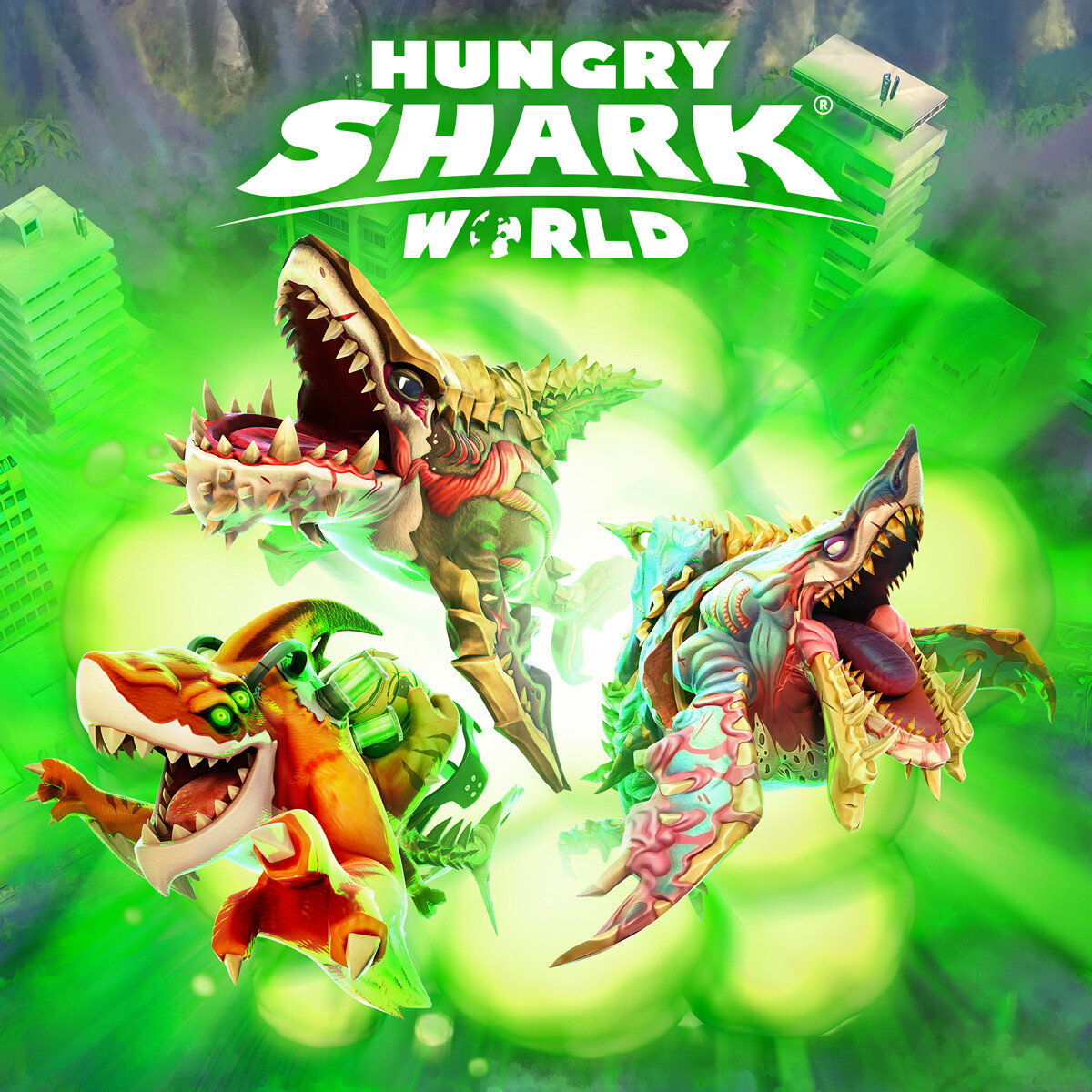 Hungry Shark World keyarts