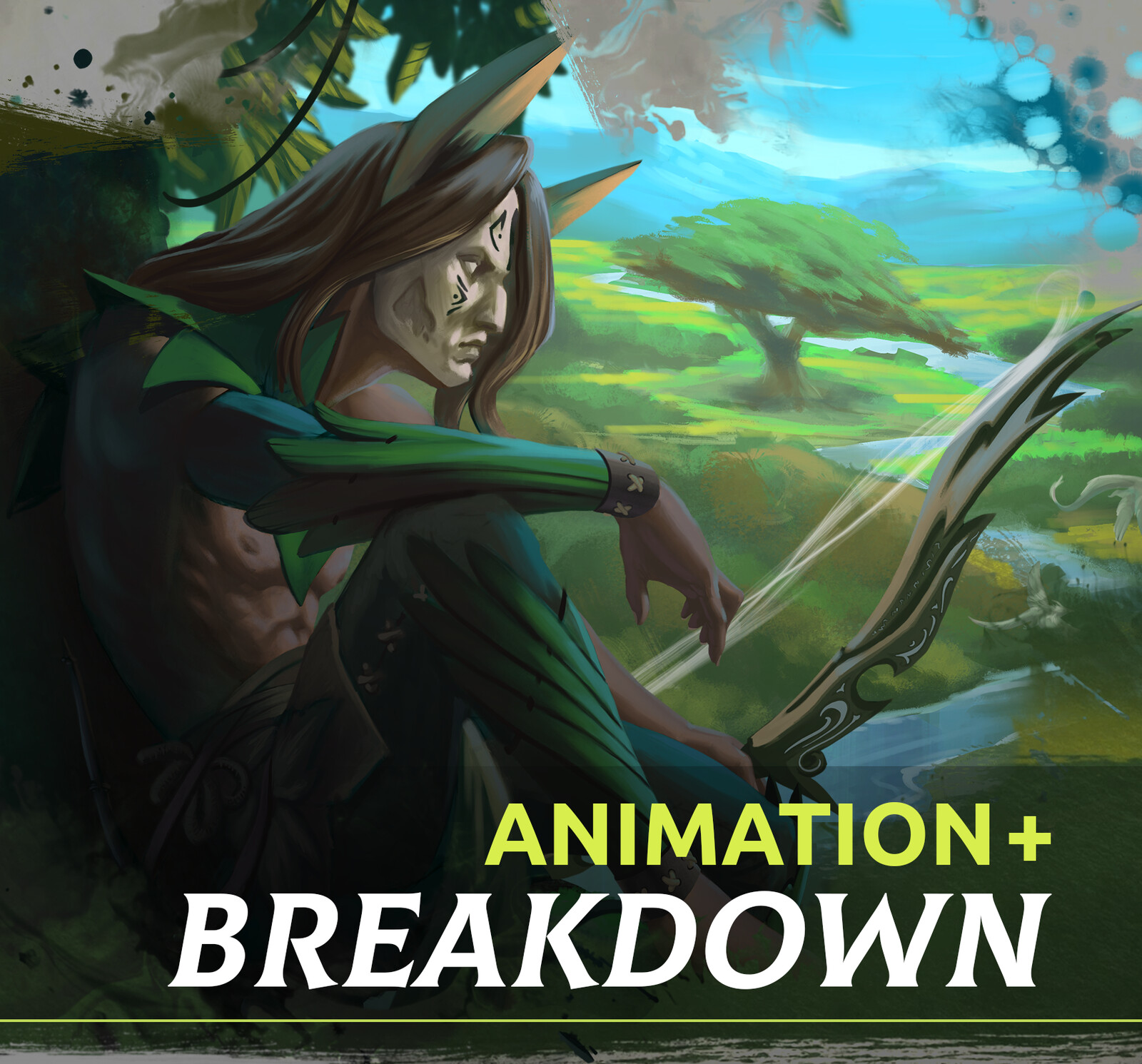 The Forests of Arnwell - Animated splash art
