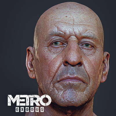 K o r e y b a k o r e y b a captain hex metroexodusdlc2 by oleg koreyba icon 03