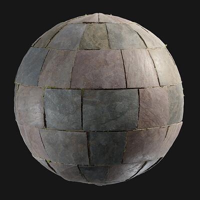 Ben wilson ben wilson slate stone floor render 3