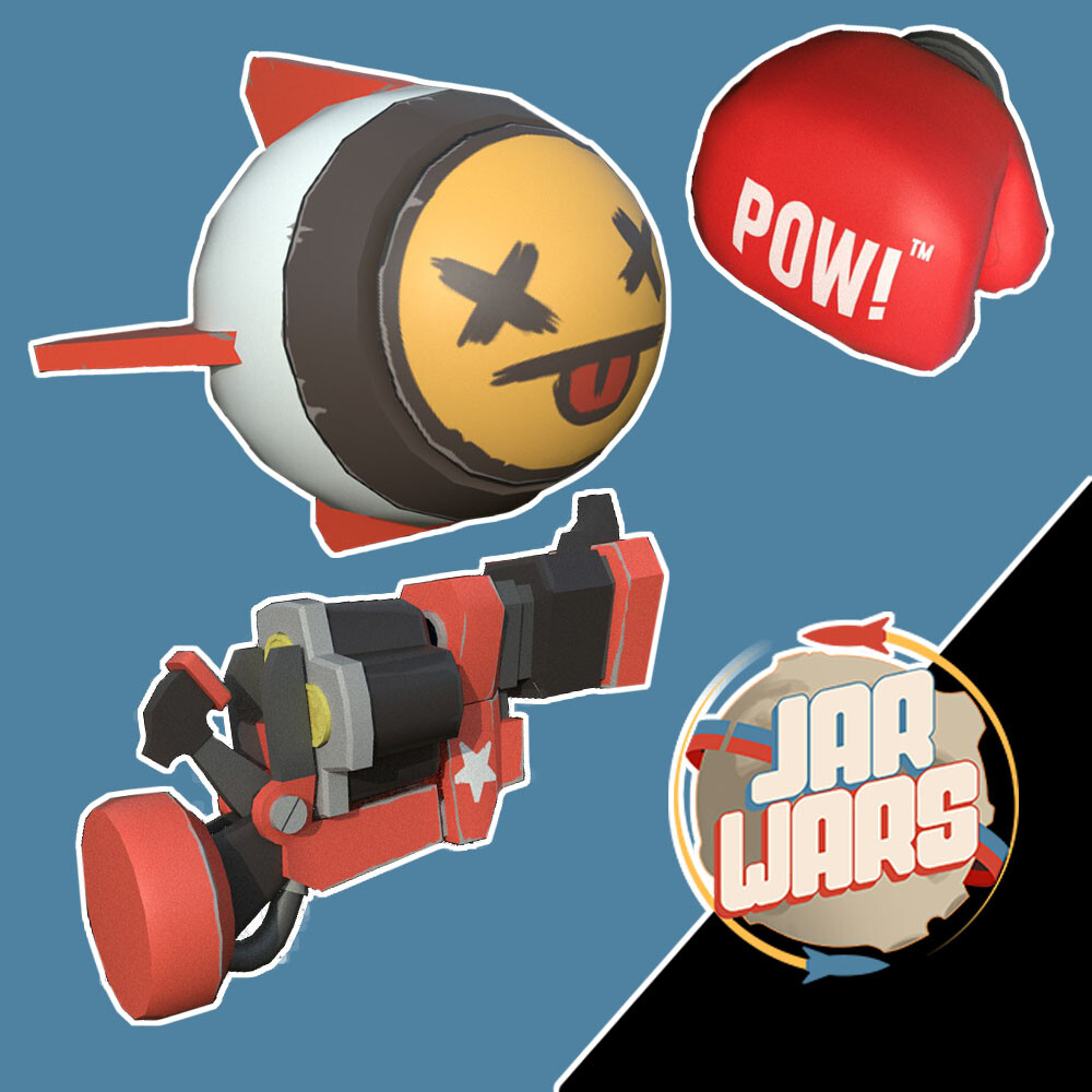 Stylized Weapons- Jar Wars