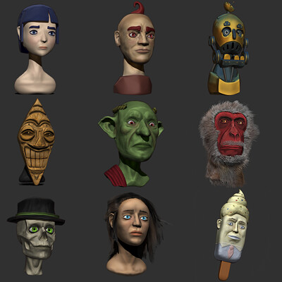 Daily Sketches Zbrush Adventures