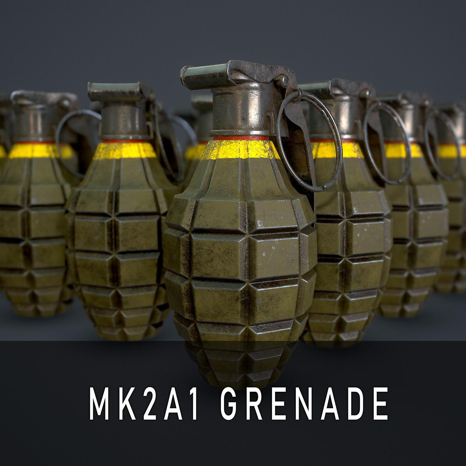MK2A1 Grenade