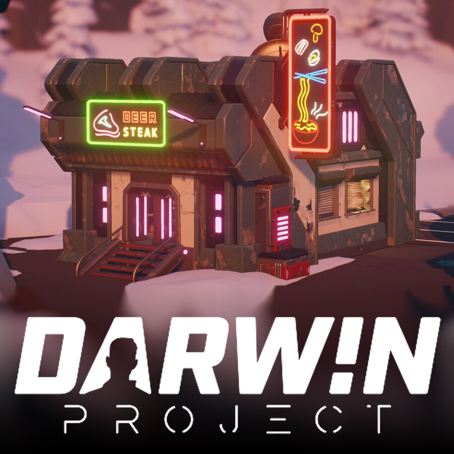 Darwin Project - New Life City assets