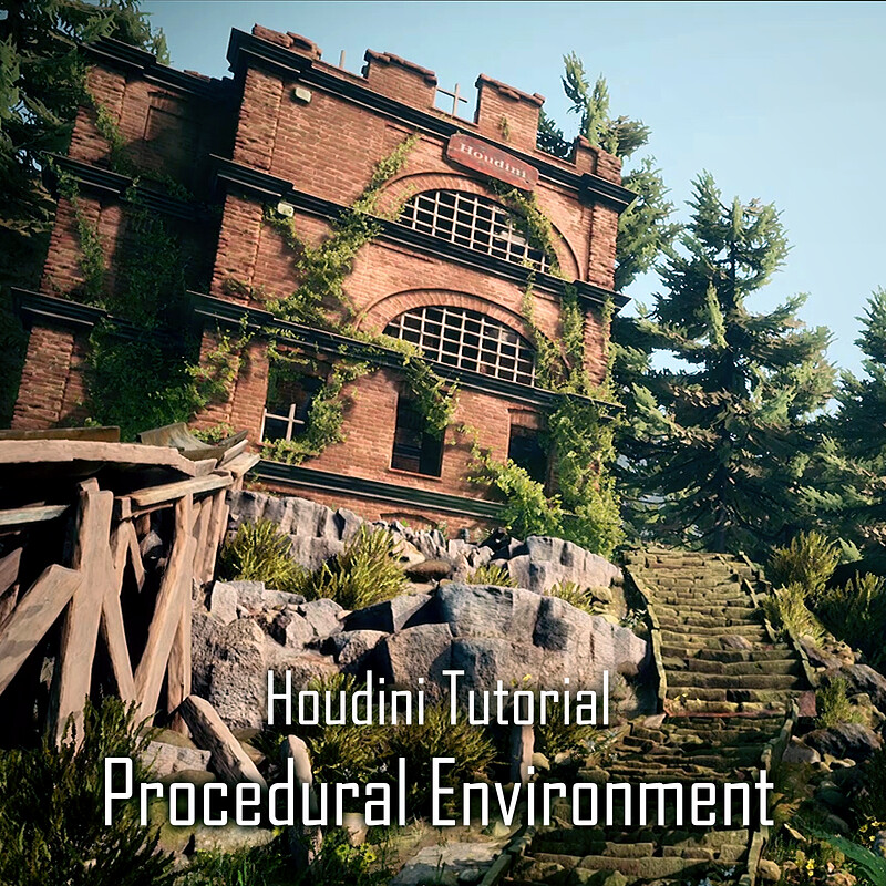 Procedural Environment with Houdini