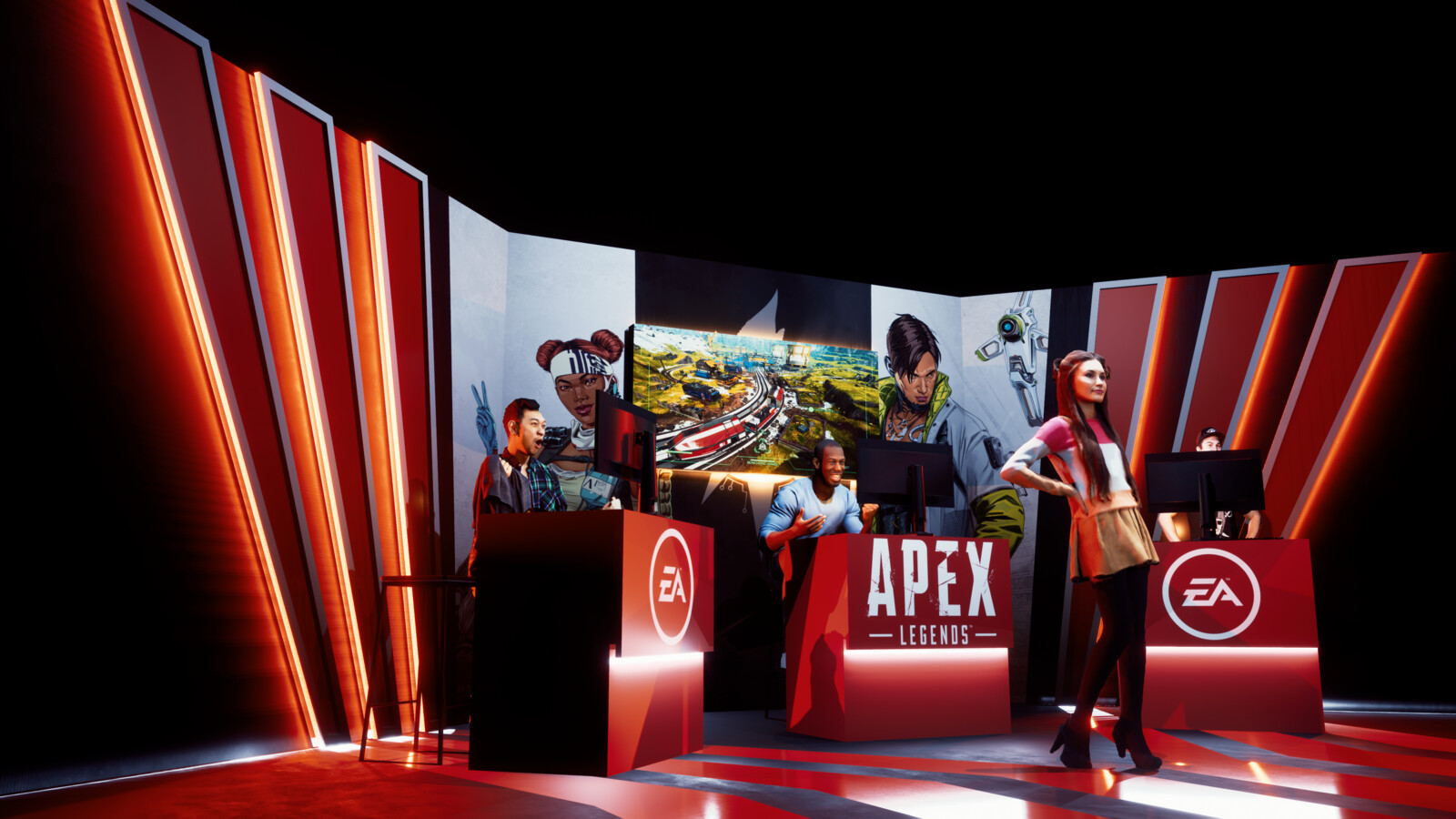 Apex Legends Studio Setup Design