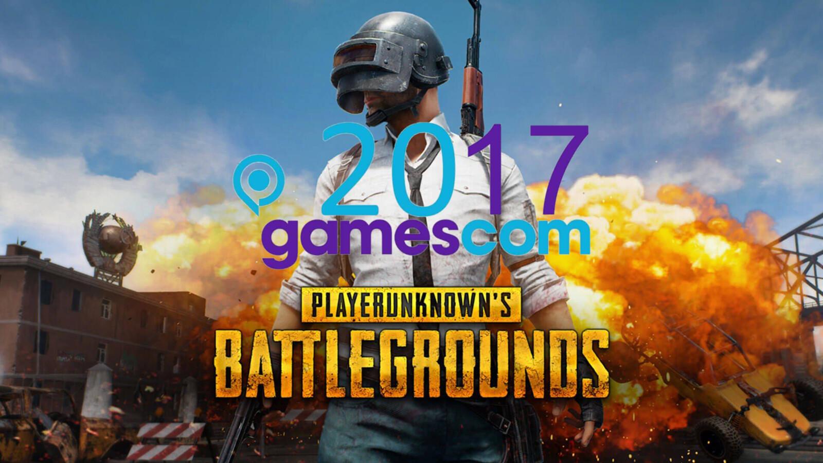PUBG Booth @ Gamescom 2017