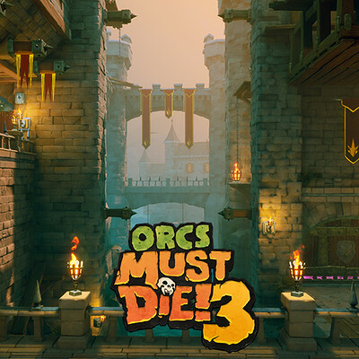 Orcs Must Die! 3 Level Art