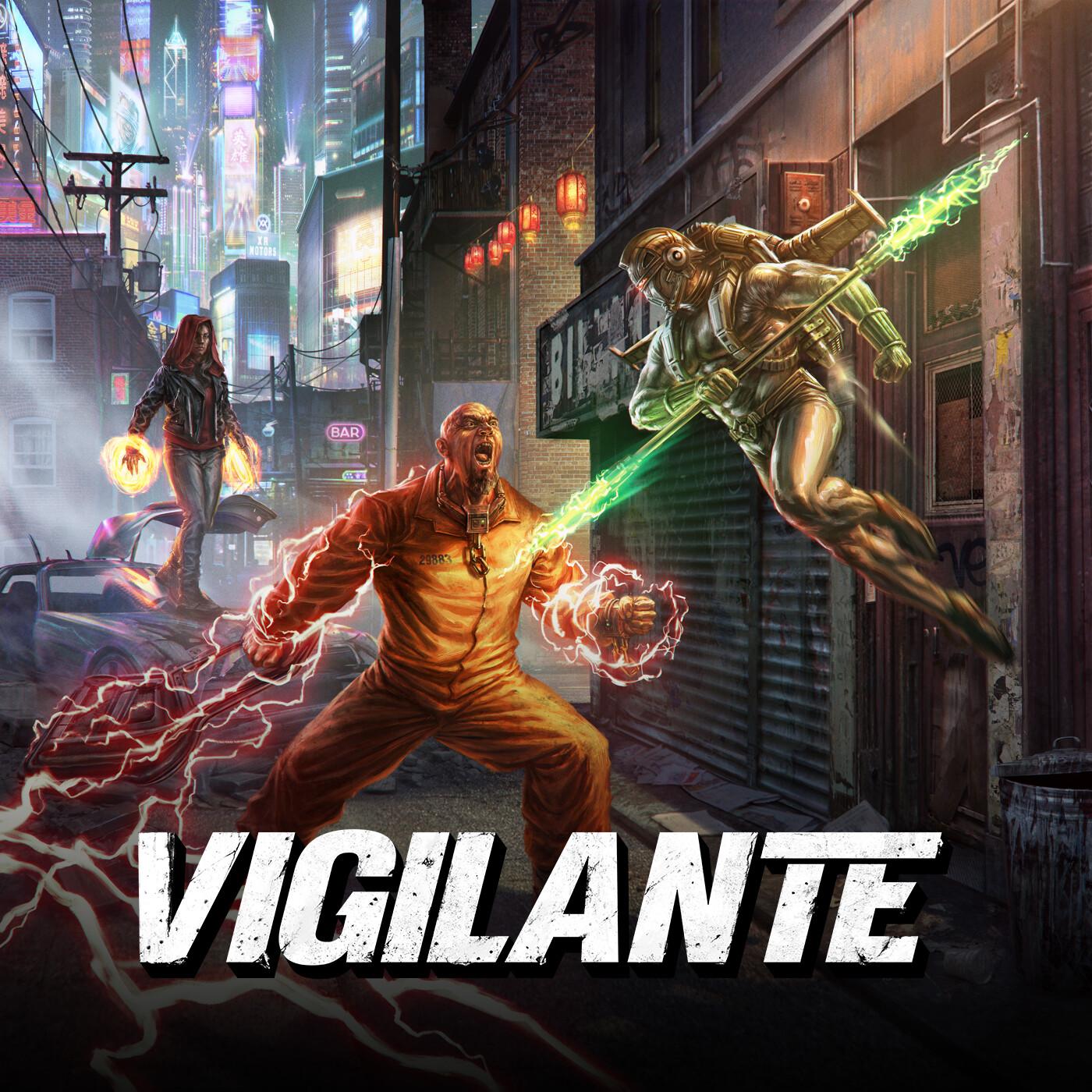 VIGILANTE : COVER ILLUSTRATION