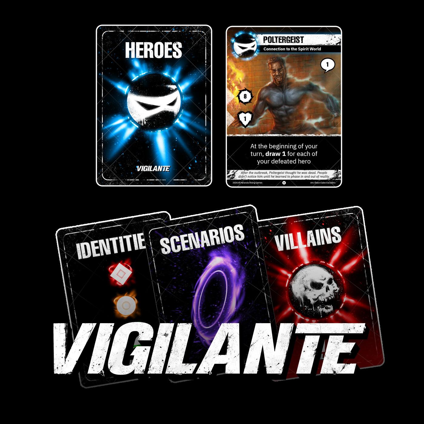 VIGILANTE: CARD DESIGN