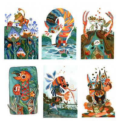 Kidlit| watercolor&gouache