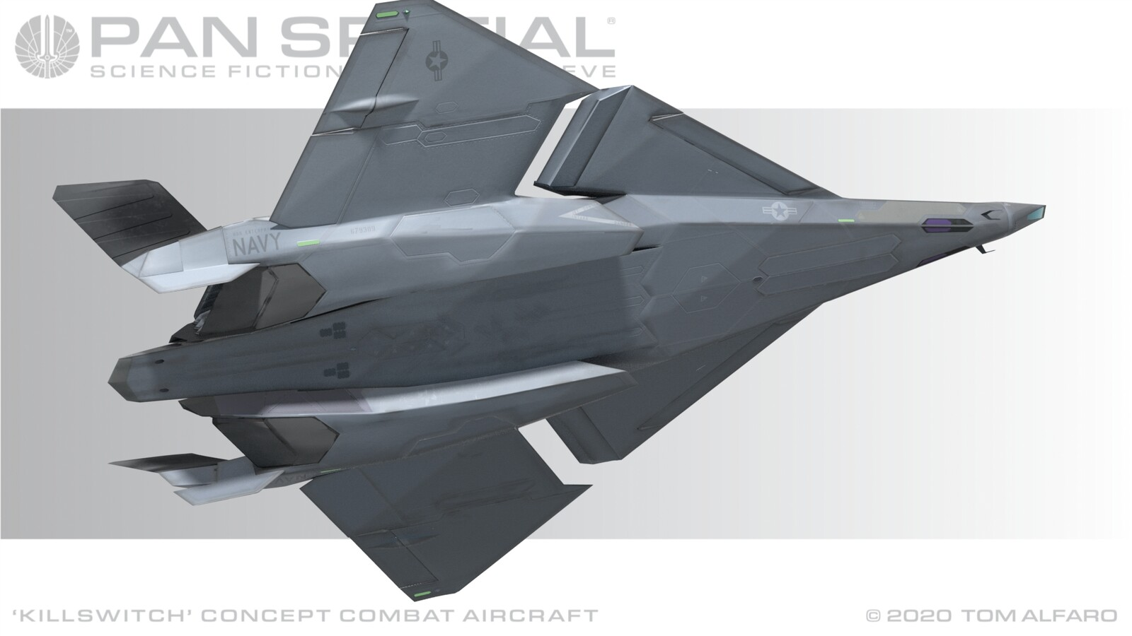 Killswitch Concept Combat Aircraft Part 6