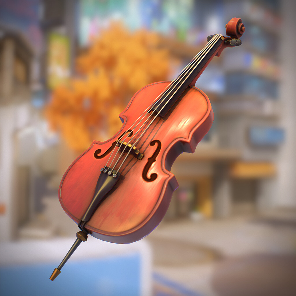 Stylized Cello