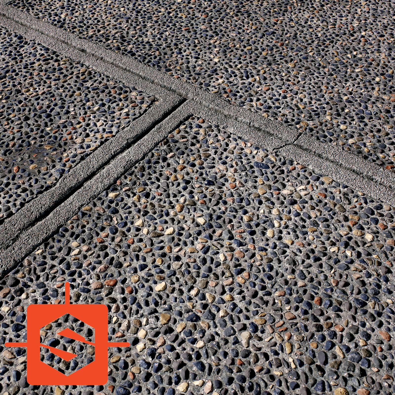 Tiles And Pebbles - 100% Substance Designer