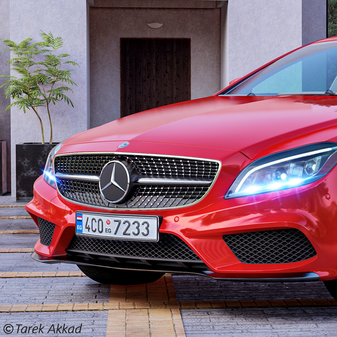 Mercedes CLS 500 4MATIC Coupe