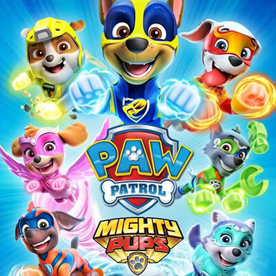 Paw Patrol. Mighty Pups Save Adventure Bay - Drakhar Studio