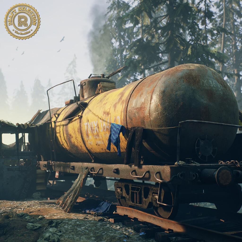 Tank Car Shelter Environment [UE4]