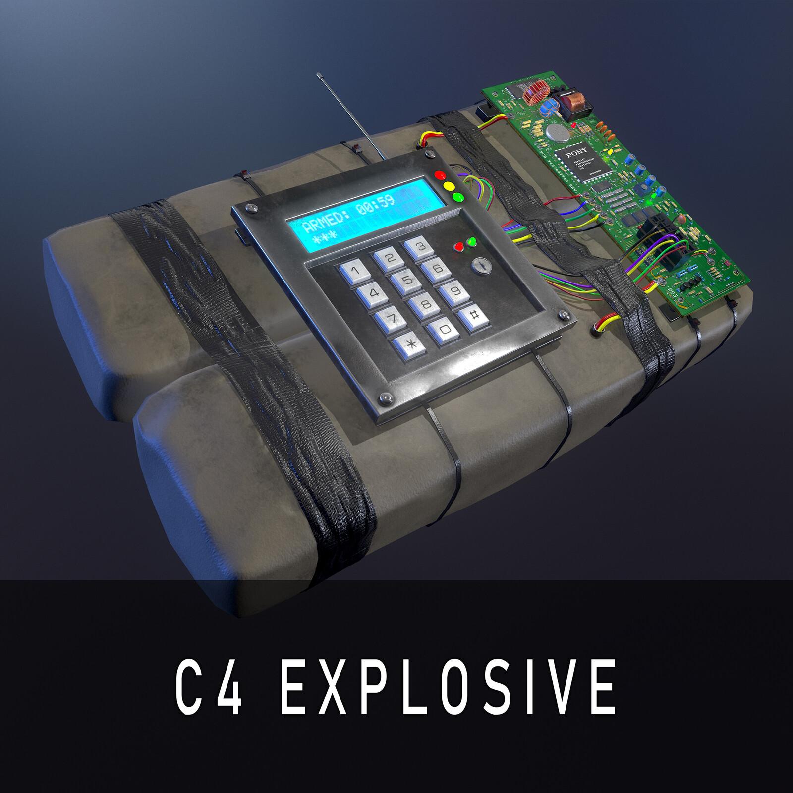 Composition C-4 - M112 Explosive