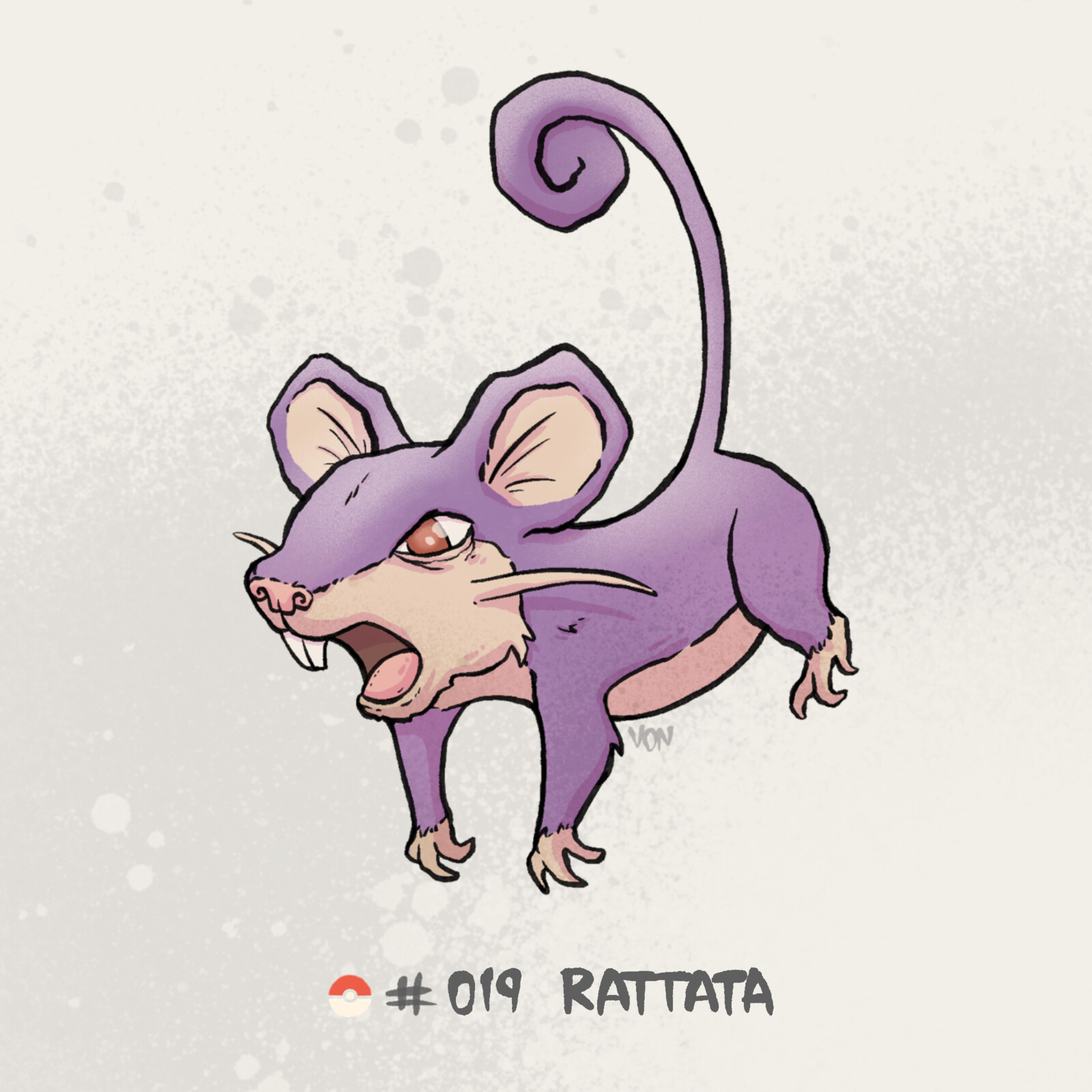 #019 Rattata