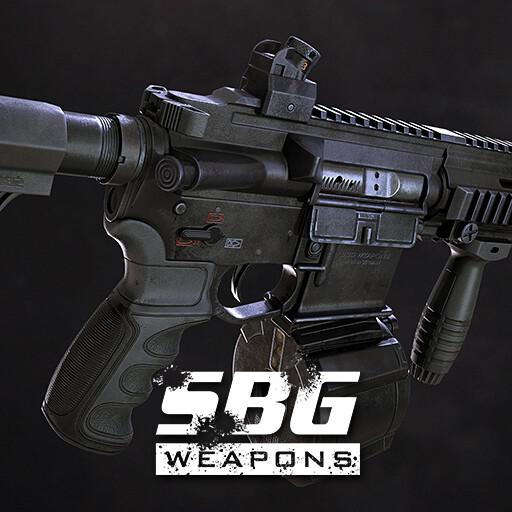 Assault Rifle Cal. 5.56mm - 01