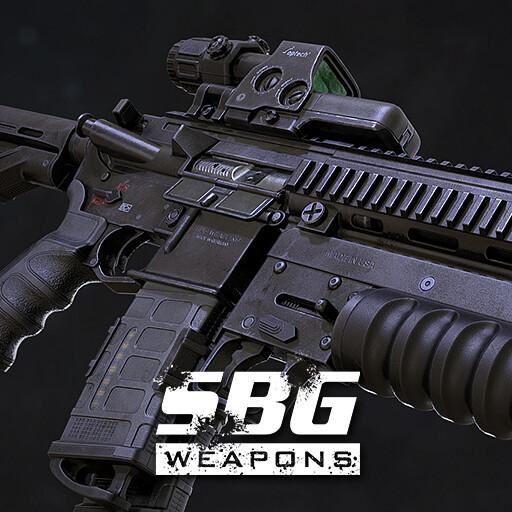 Assault Rifle Cal. 5.56mm - 02