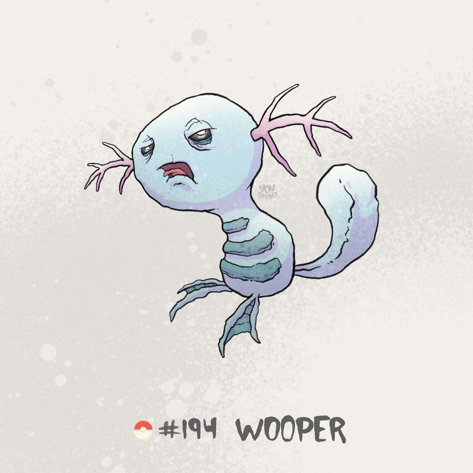 #194 Wooper