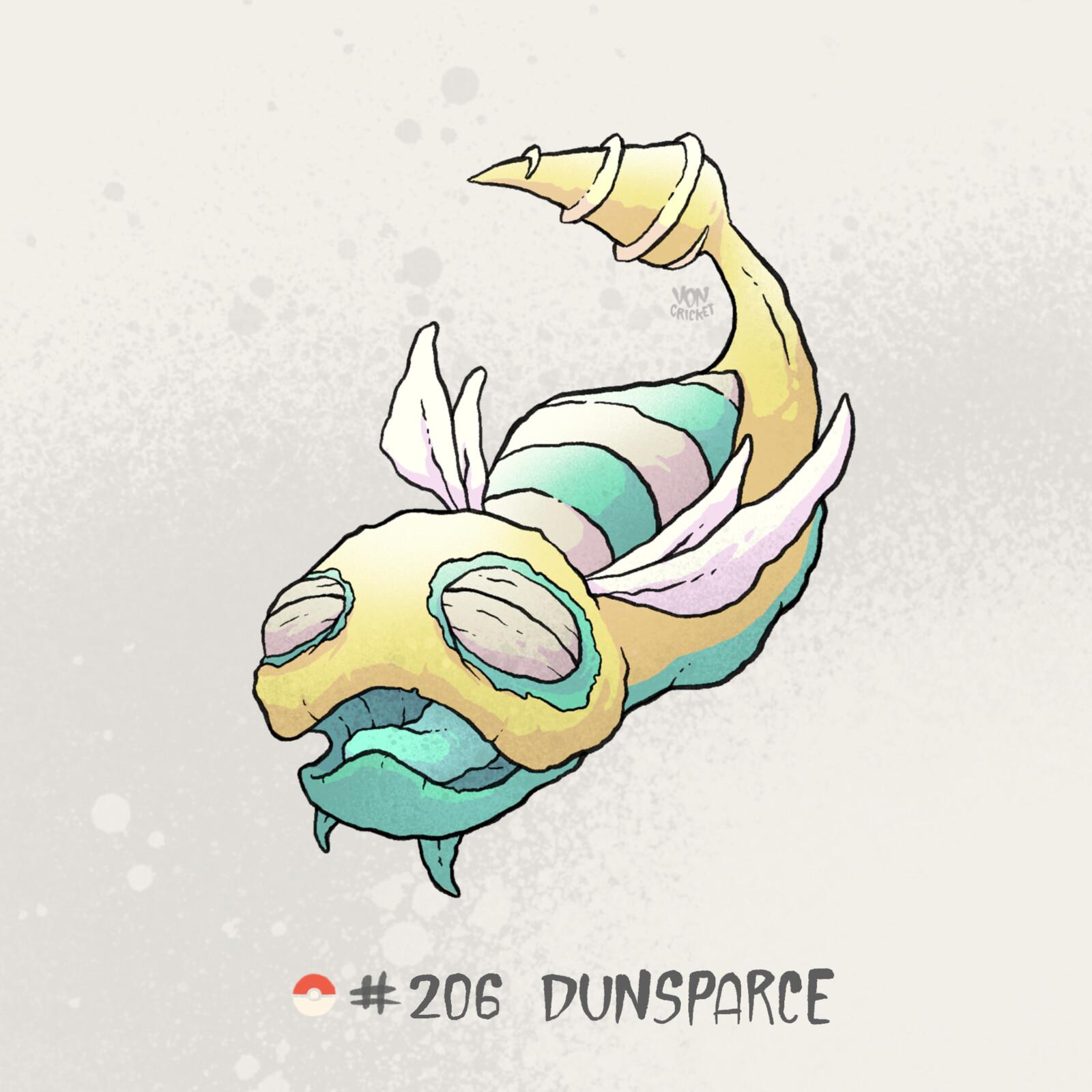 #206 Dunsparce