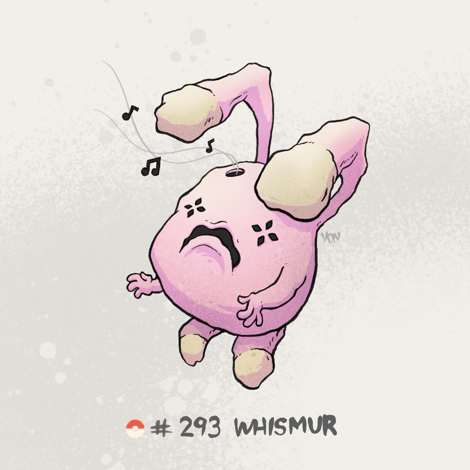#293 Whismur