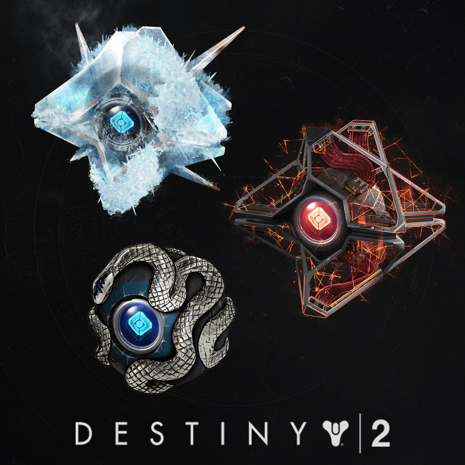 Destiny 2 -  Various Ghosts